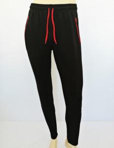 P.4004. Negru, Pantalon Trening Bărbați SLIM