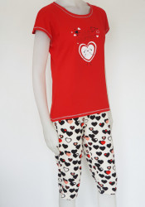 Pijama Damă 2163.Rosu