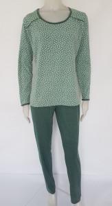 Pijama Damă Clasica Knox 2183 Verde deschis