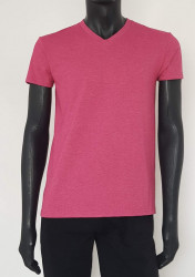 Tricou Barbati SLIM 4623.bordo