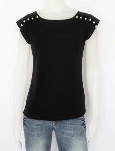 Tricou Dama CLASIC. 2889.negru