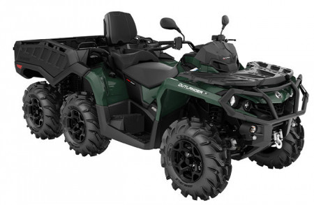 Can-Am Outlander 650 MAX 6X6 XU+ T Side Wall · 2021