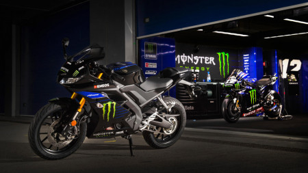 Yamaha YZF R125 Monster Energy