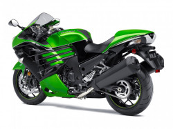 Motocicleta Kawasaki ZZR1400