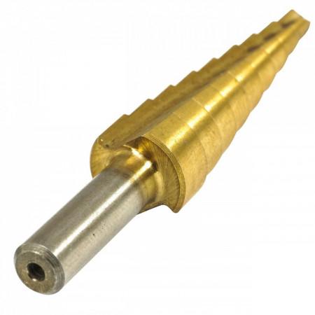 Burghiu conic 4-12mm HSS VERKE V05055