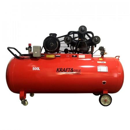 Compresor de aer cu 3 pistoane 10.8kW 500L 1960L/min 400V KD1490 KraftDele