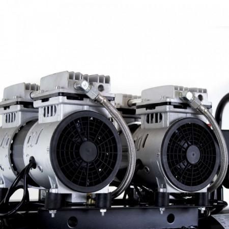 Compresor de aer fără ulei 50L 370l/min 230V 8 bari OF50 Barracuda B-SLSG-50L