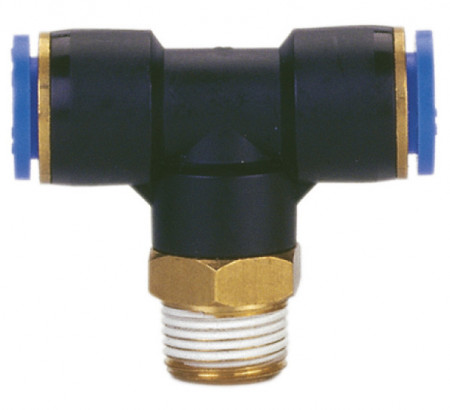 "Conector PB (tip T cu filet) 8mm 1/4"" MA0117.06"