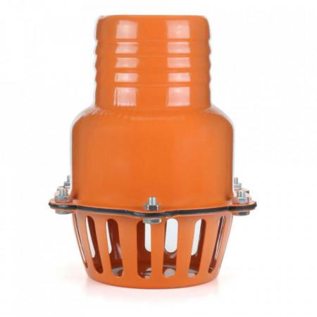 Filtru de aspiratie cu o supapa pentru pompa de 4 inci - 100 mm B-WASS.4.100
