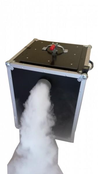 Masina fum greu cu gheata carbonica MFg5.60 , 2+2kW.Reglaj dozare fum.