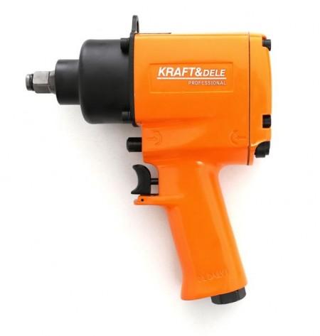"Pistol Impact pneumatic 1050Nm 1/2"", 10 piese, KraftDele KD1425"