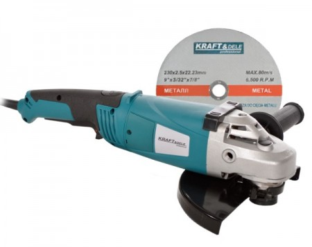Polizor unghiular (flex) 230mm 2100W KRAFTDELE KD539