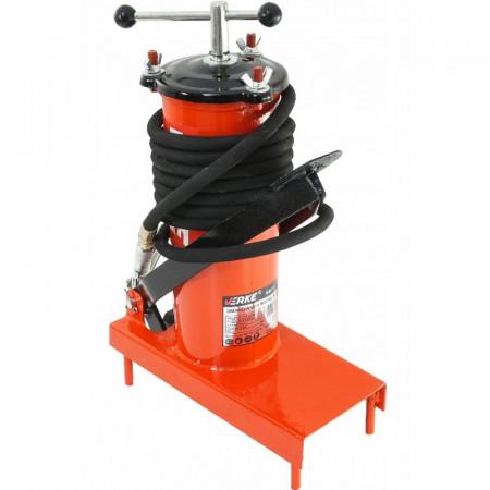 Pompa de gresat actionata la picior recipient 3L VERKE V86130
