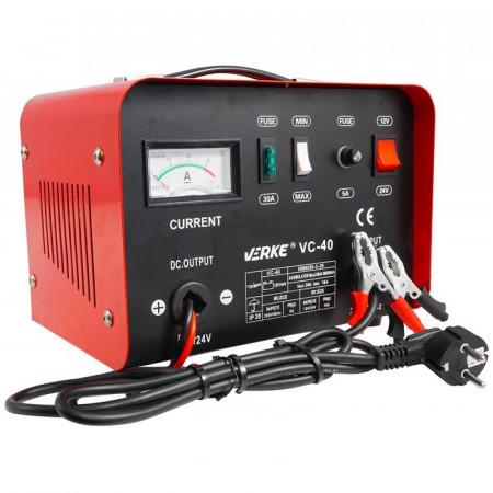 Redreso auto incarcare acumulator 12/24V 20A 250 Ah VERKE VC-40 V80003