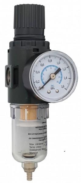 """Reductor cu filtru de apa pentru aer comprimat  1/4"""" ADLER AD-FRL MA0173.1"""