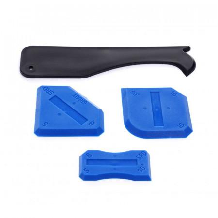 Set 4 spatule pentru aplicare silicon la rosturilor KD10547 KraftDele