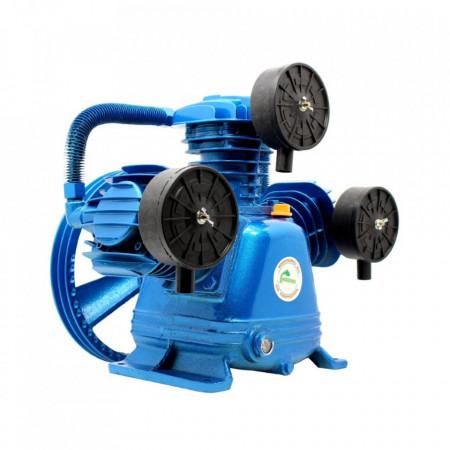 Cap compresor de aer cu 3 pistoane 600l/min 2.2-4kW 10 bari H3065 Blue B-AC3065 BLUE