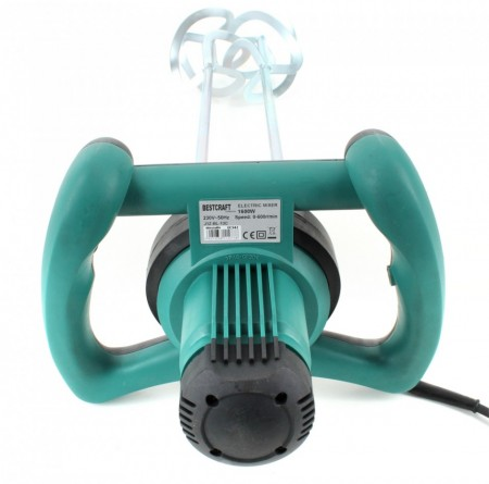 Mixer dublu electric mortar, adeziv, vopsea. 1600W BESTCRAFT EC542