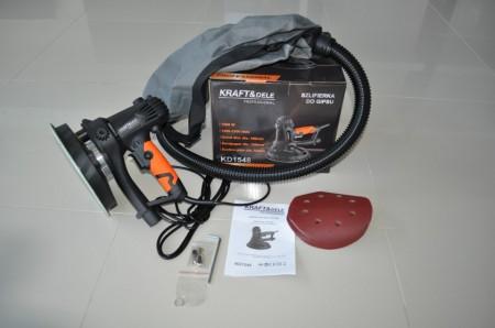 Slefuitor pentru pereti cu sistem aspirare, 1500W KD1548