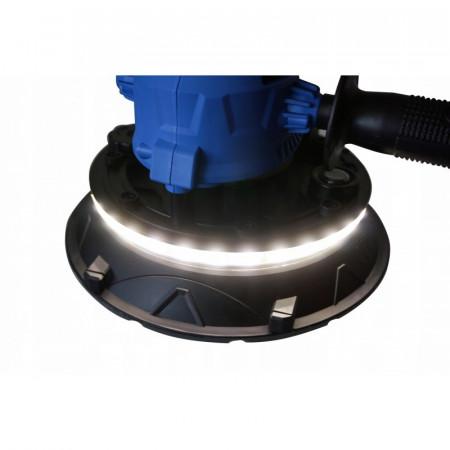 Slefuitor pentru pereti cu sistem aspirare si LED 1400W 180mm V08200 Verke