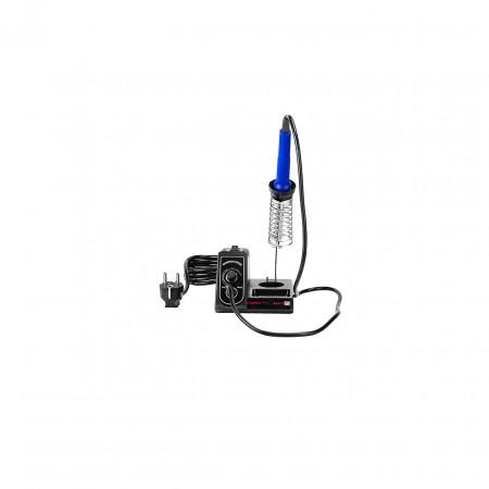 Statie de lipire cu letcon si stativ 60 W S-LS-18 Basic Stamos 10021029