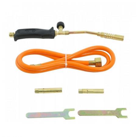 Arzător de gaz 1250-1800 ºC, 3 duze 13, 14, 17mm VERKE V07452