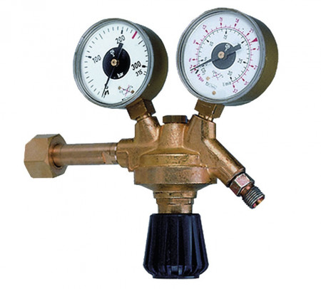 Ceas regulator CO2 si Argon 315 bari 0-30 l/min MAXY MA0025.0