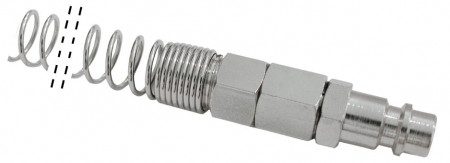 Conector tata furtun cu arc 6x4 mm MA0136.51