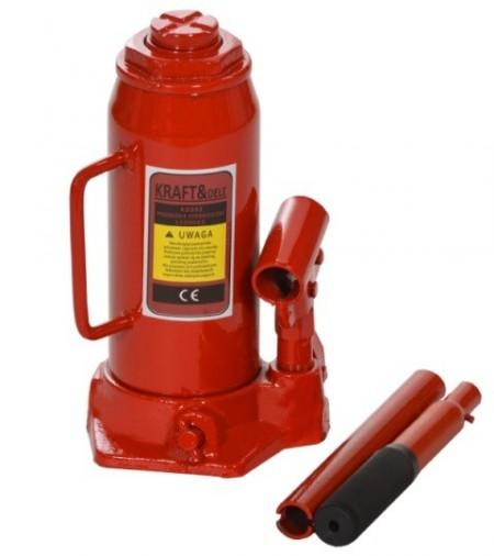 Cric hidraulic tip butelie 12T 150mm KraftDele KD393