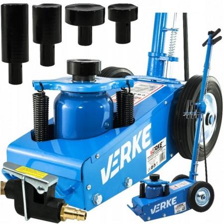 Cric hidraulic auto actionat pneumatic 22 tone VERKE V80115