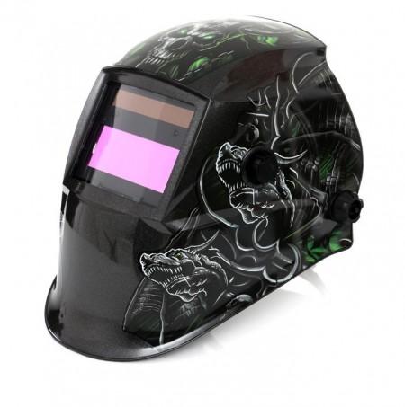 Masca de sudura automata, cu LCD profesionala KraftDele KD1894 Lup