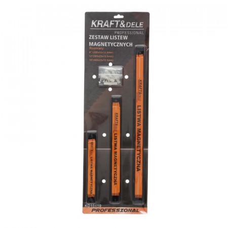 Set bare magnetice pentru scule metalice atelier 200-305-460 mm KD10410 KraftDele