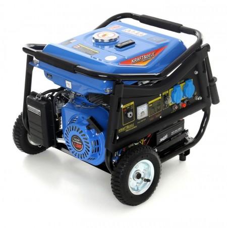 Generator curent electric benzina 3000W 12/230V KraftDele KD144