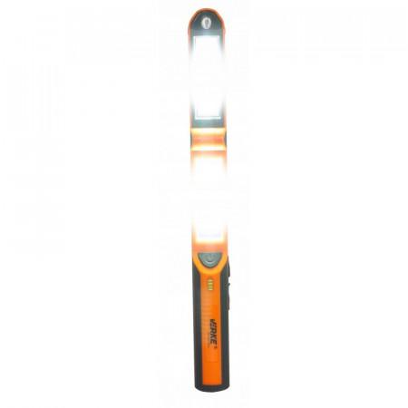 Lampa de ateliere 2x COB 3W+1W Li-ion 2.6A lampa LED VERKE V87519