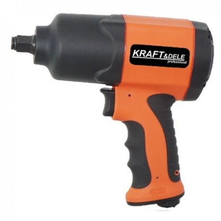 "Pistol Impact pneumatic 1200Nm 1/2"", KraftDele KD1429"
