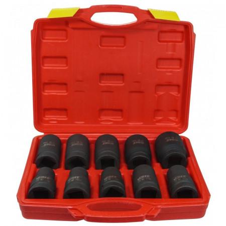 """Set de chei tubulare IMPACT 1"""" 10 elemente 17-41mm V39465 Verke"""