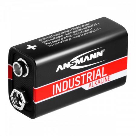 Baterii alcaline INDUSTRIALE 10 x 9V 6LR61 550mAh Ansmann 10270003