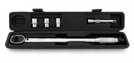 """Cheie dinamometrica 1/2""""460mm 28-210 Nm cu blocaj, include 17/19/21 mm TA4081"""