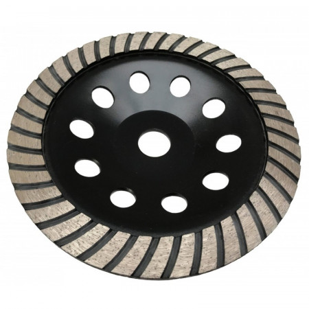 Disc diamantat pentru slefuit beton tip turbo 180mm x 22.2mm V44219 Verke