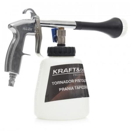 Pistol pneumatic tornador pentru spalare tapiserie KD10379 KraftDele