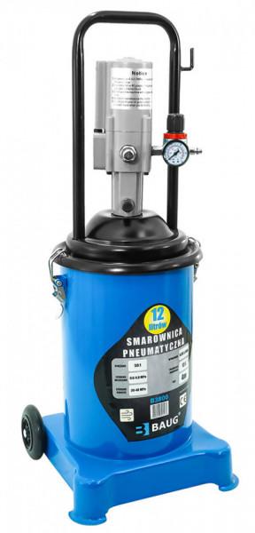 Pompa de gresat actionata pneumatic recipient 12L B3800 BAUG