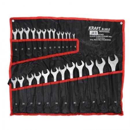 Set chei fixe 25 piese 6-28 + 30 + 32 mm KraftDele KD10920 TBC