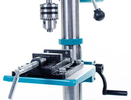 Bormasina de banc BESTCRAFT EC513, 1450W, 2700 rpm, 12 trepte de viteza, verde-griu, 16mm