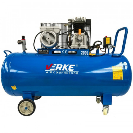 Compresor de aer industrial 200litri 2.2kW 220V 330 L/min V81125 Verke