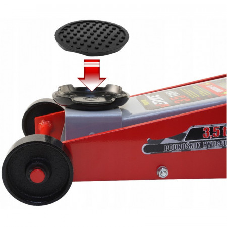 Cric auto hidraulic tip crocodil 3.5 tone cu pedala VERKE V80110
