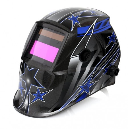 Masca de sudura automata, cu LCD profesionala KraftDele KD1891 Stea