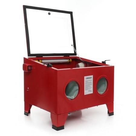 Cabina de sablat cu capacitatea de 80 litri KraftDele KD10334