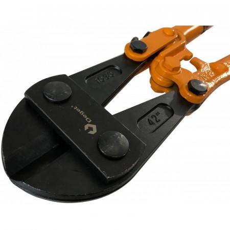 """Cleste fier beton 1050mm 42"""" 16mm cu manere ergonomice VERKE V06256"""