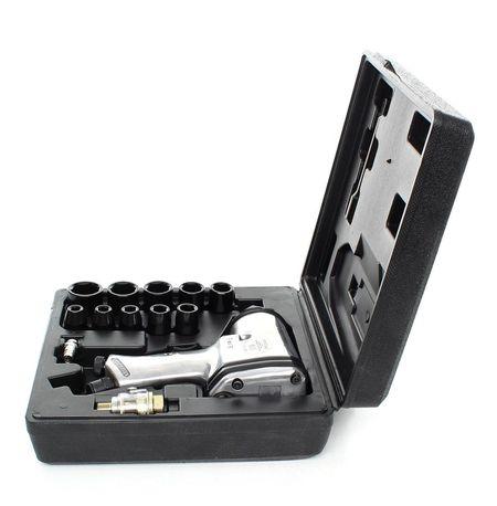 """Pistol Impact pneumatic 312Nm 90PSI 1/2"""", 17 piese, KraftDele KD1420"""