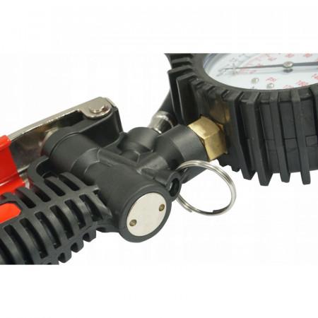 Pistol umflat roti cu manometru 40cm 0-12 bari V81265 Verke